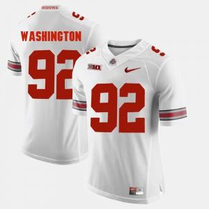 #92 White Alumni Football Game Men's Adolphus Washington OSU Jersey