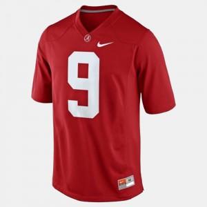 Amari Cooper Alabama Jersey For Men's College Football Red #9