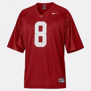 For Kids Julio Jones Alabama Jersey College Football Red #8