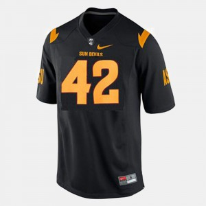 College Football #42 Pat Tillman ASU Jersey Black For Men
