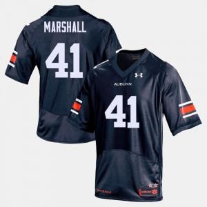 Navy Aidan Marshall Auburn Jersey For Men's College Football #41
