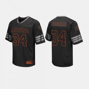 College Football For Men's Black #34 Auburn Jersey