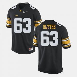 #63 Austin Blythe Iowa Jersey Black Alumni Football Game Men
