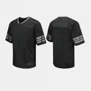 College Football For Men #17 Black Baylor Jersey