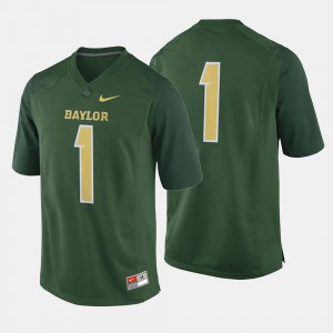 College Football #1 For Men's Baylor Jersey Green