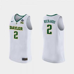 DiDi Richards Baylor Jersey Women's 2019 NCAA Women's Basketball Champions #2 White
