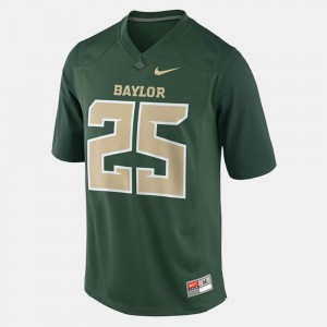 Green For Men's College Football #25 Lache Seastrunk Baylor Jersey