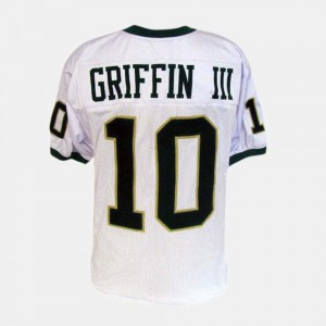 White Kids #10 College Football Robert Griffin III Baylor Jersey