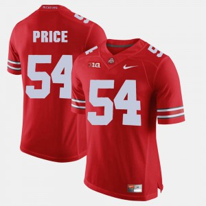 #54 Scarlet Billy Price OSU Jersey Alumni Football Game For Men's