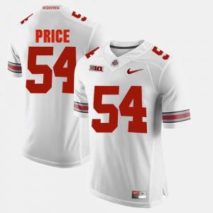 Billy Price OSU Jersey Mens White #54 Alumni Football Game