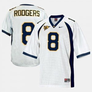 College Football White Youth(Kids) Aaron Rodgers Cal Bears Jersey #8
