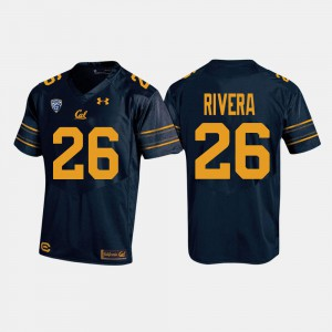 Bug Rivera Cal Bears Jersey For Men's #26 College Football Navy