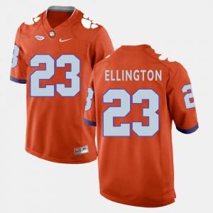 Men's Andre Ellington Clemson Jersey #23 College Football Orange