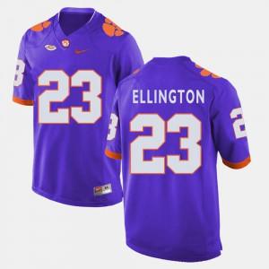 #23 Purple Andre Ellington Clemson Jersey For Men's College Football