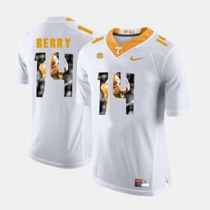 Pictorial Fashion White Eric Berry UT Jersey Men #14