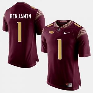 BKelvin Benjamin FSU Jersey For Men Garnet College Football #1