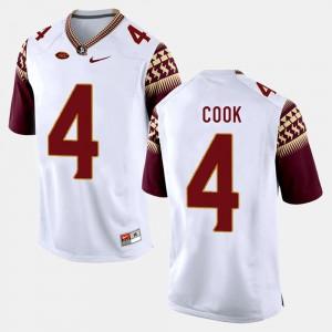 White College Football Dalvin Cook FSU Jersey For Men #4