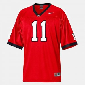 Aaron Murray UGA Jersey #11 College Football Red Youth