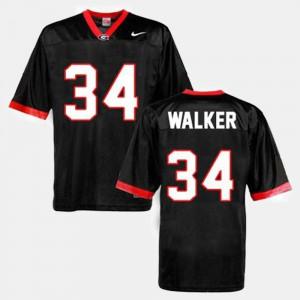 Black College Football Men Herschel Walker UGA Jersey #34