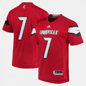 Louisville Jersey For Men's 2017 Special Games Red #7