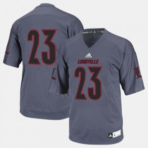 Louisville Jersey College Football Men #23 Black