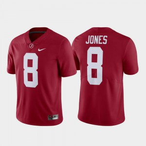 #8 Alumni Julio Jones Alabama Jersey Crimson Limited For Men's