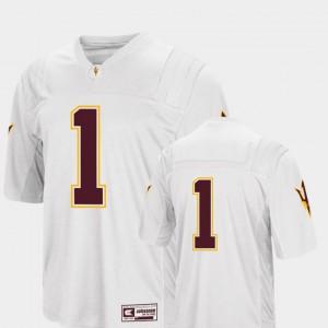 #1 White Colosseum 2018 ASU Jersey For Men's College Football