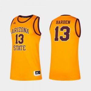 Alumni James Harden ASU Jersey Gold Mens Classic #13