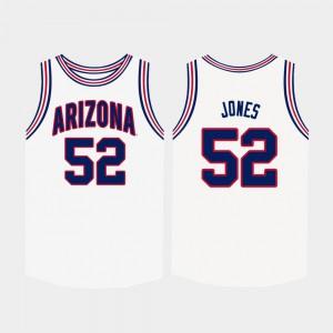 White Kory Jones Arizona Jersey College Basketball For Men #52