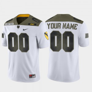 Army Custom Jersey 1st Cavalry Division Limited Edition Men White #00