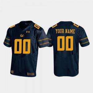 Replica #00 Navy For Men's Cal Bears Custom Jerseys Football