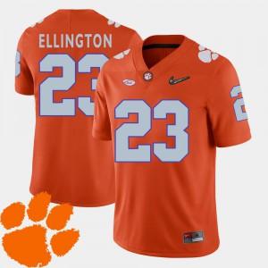 Orange Andre Ellington Clemson Jersey 2018 ACC #23 College Football Men
