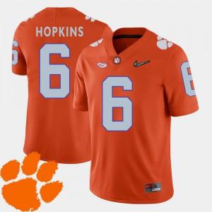 DeAndre Hopkins Clemson Jersey 2018 ACC #6 Men's College Football Orange