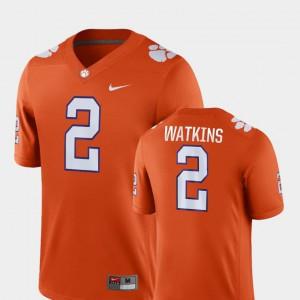 Sammy Watkins Clemson Jersey Men's Orange #2 Game College Football