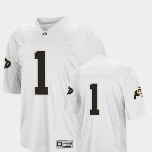 Colosseum 2018 White For Men's Colorado Jersey College Football #1