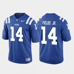 Royal Game Men College Football Bryon Fields Jr. Duke Jersey #14