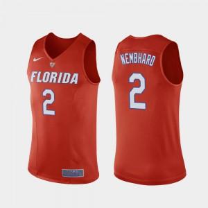 College Basketball Orange Andrew Nembhard Gators Jersey #2 Replica Men