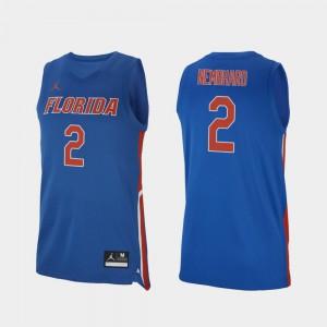 College Basketball Royal Andrew Nembhard Gators Jersey Replica For Men #2
