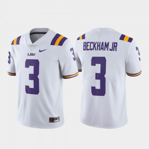 White Alumni Football Limited Odell Beckham Jr LSU Jersey For Men's #3