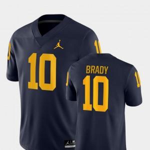 Navy Game College Football Tom Brady Michigan Jersey Men #10