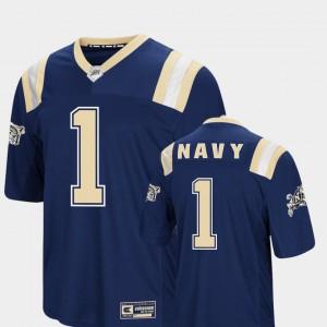 Men Navy Jersey Foos-Ball Football Colosseum Navy #1