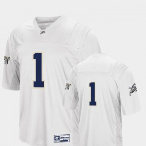 White College Football For Men #1 Navy Jersey Colosseum