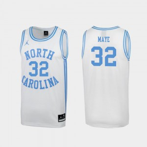 Special College Basketball For Men's #32 March Madness Luke Maye UNC Jersey White