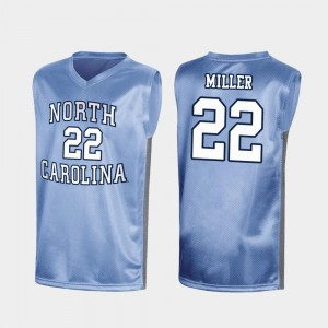 #22 Special College Basketball Mens Walker Miller UNC Jersey Royal March Madness
