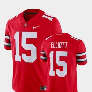 Ezekiel Elliott OSU Jersey College Limited Football Alumni Scarlet For Men's #15