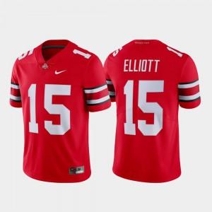Ezekiel Elliott OSU Jersey #15 Name & Number Men's Limited Scarlet