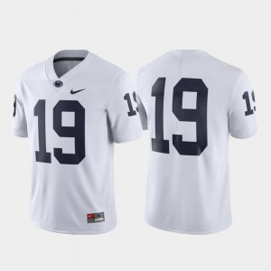 White Penn State Jersey Limited Mens #19