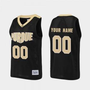 Alumni #00 Black For Men Purdue Customized Jerseys Basketball