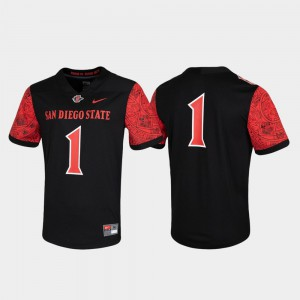 Game San Diego State Jersey Black Untouchable #1 Mens