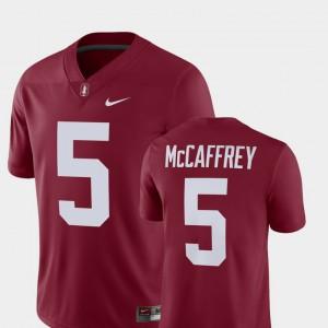 Alumni Football Game Cardinal #5 For Men's Christian McCaffrey Stanford Jersey Player